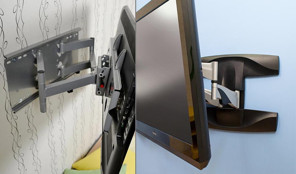 新旧アーム金具を比較してみましょう。やはり新アーム金具はデザイン性が高いです